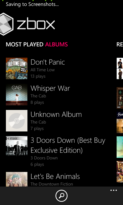 Zbox and OneMusic joint review- The best Windows Phone music players are kneecapped 2