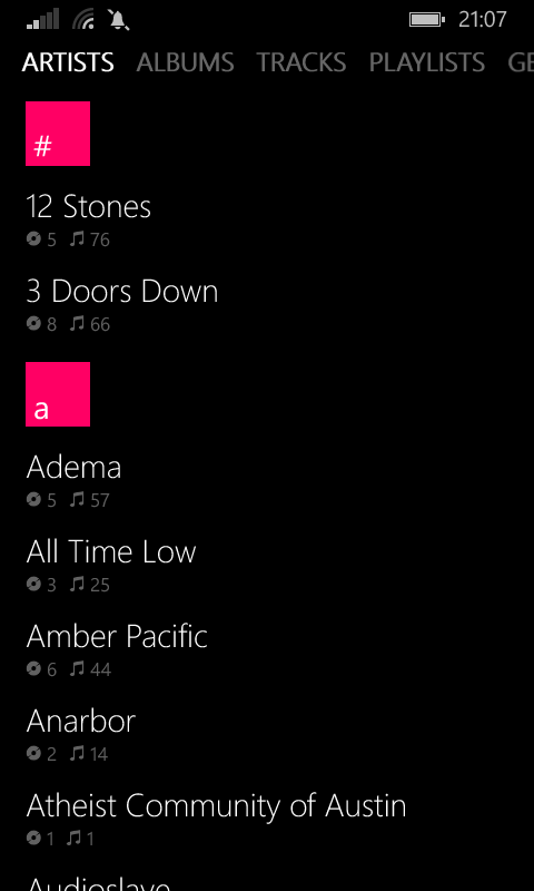 Zbox and OneMusic joint review- The best Windows Phone music players are kneecapped 4