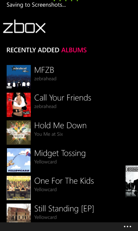 Zbox and OneMusic joint review- The best Windows Phone music players are kneecapped 3