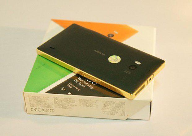 24 Karat Gold Lumia 930 1