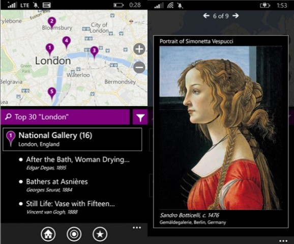 City Art Search Windows Phone