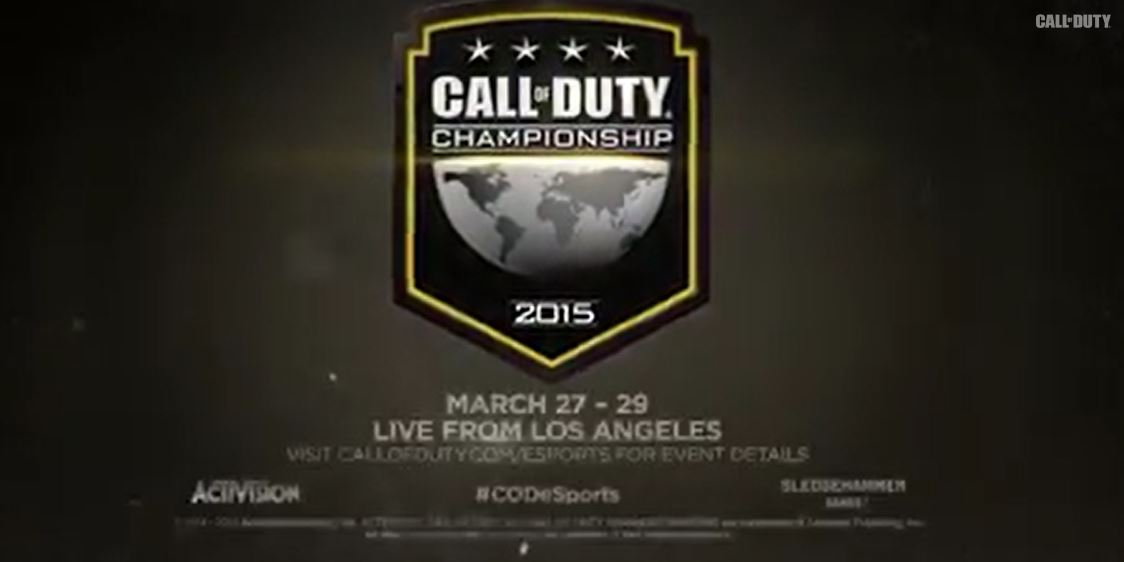 Official Call Of Duty championship
