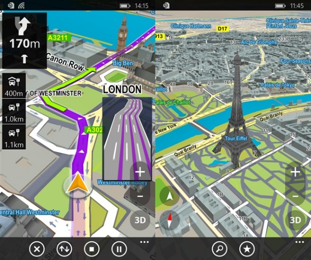 Sygic GPS Navigation App Updated With New Maps And More In
