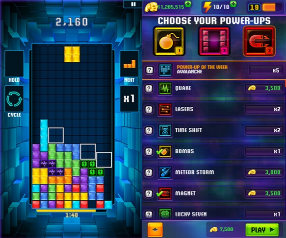 Tetris Blitz Windows Phone app