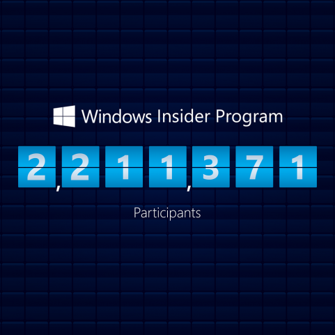 Windows Insider Program Numbers