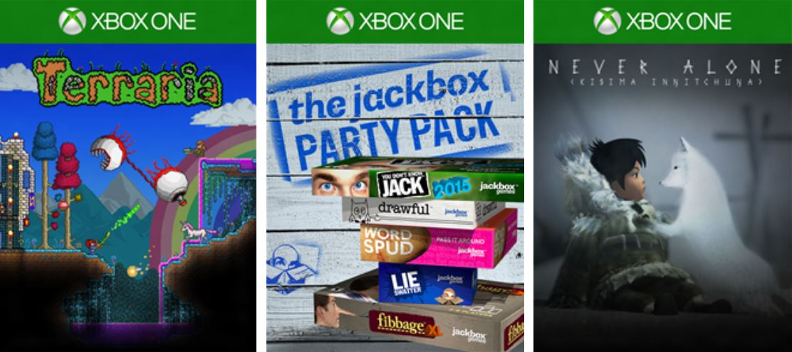 Xbox Live Gold Deals For Xbox One: Terraria, Never Alone And More