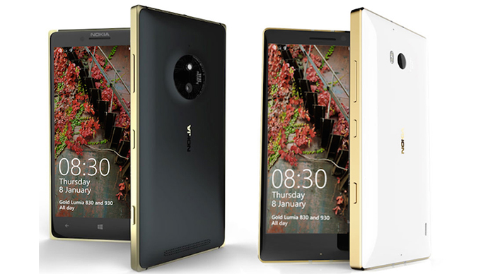 Gold Edition Nokia Lumia 830 and 930 launch in Vietnam 3