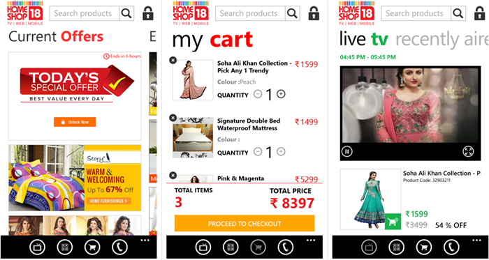 Official HomeShop18 app arrives in the Windows Phone Store 13