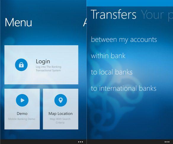 Kuwait Bank App Windows Phone