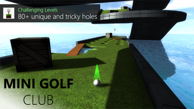 Mini Golf Club Updated With Level Editor And More Holes 8