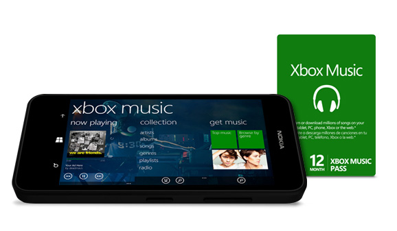 Nokia Lumia 635 Xbox Music
