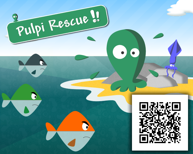 Tap on fish and Rescue Pulpi ! 3