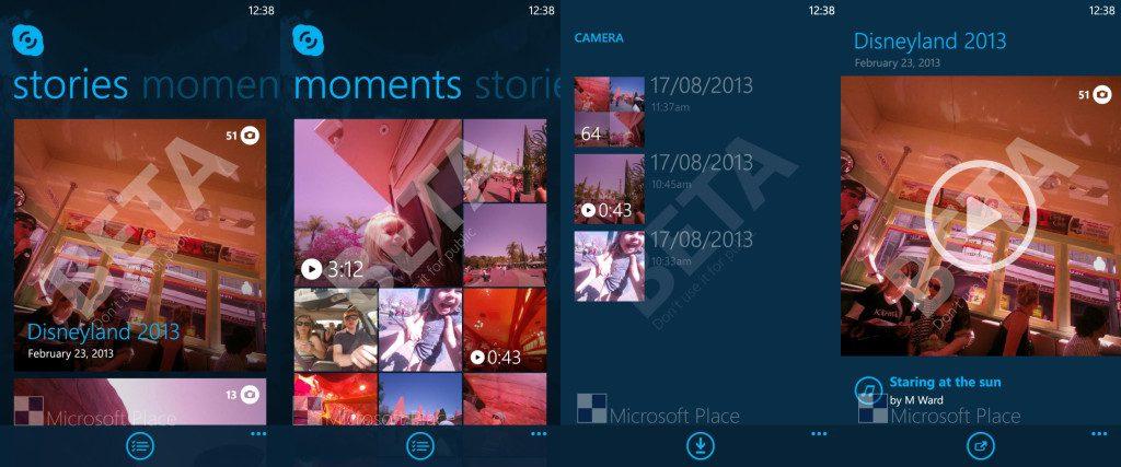 Skype Cam Windows Phone app