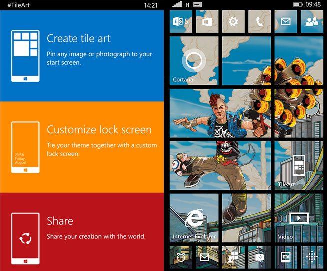 TileArt Windows Phone