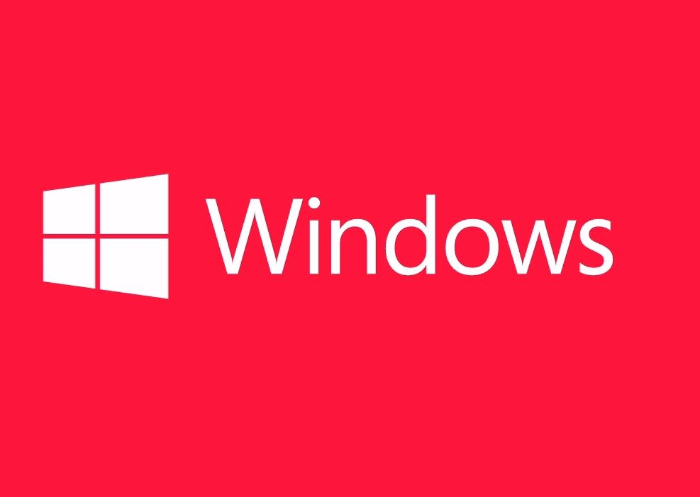 Windows Logo Red