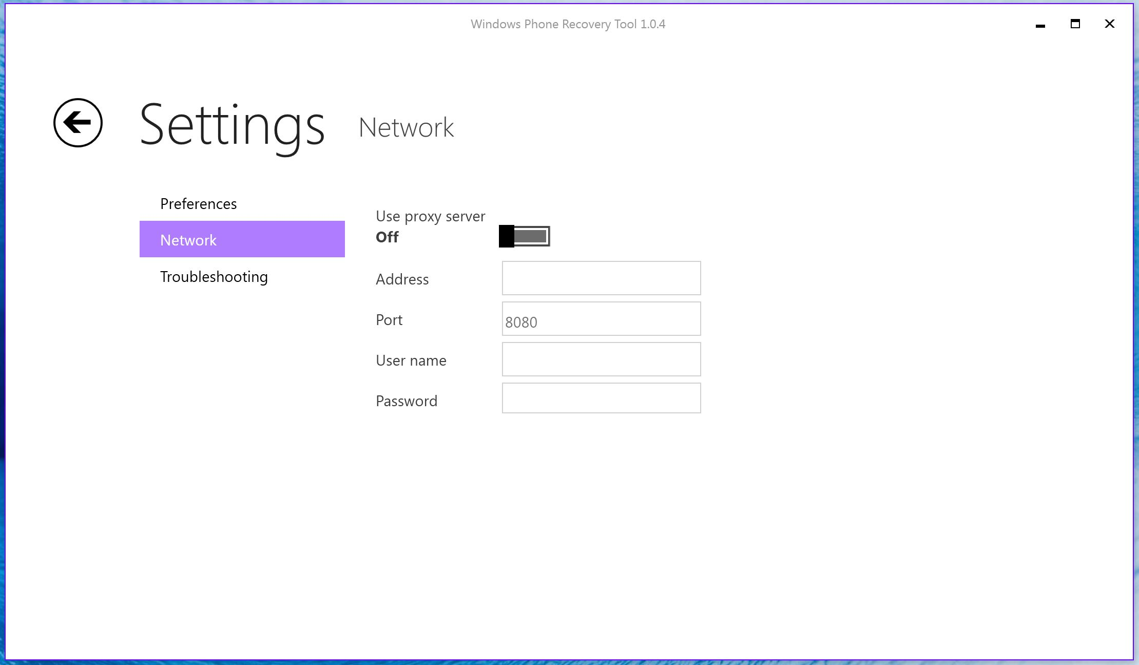 Windows Phone Recovery Tool 3