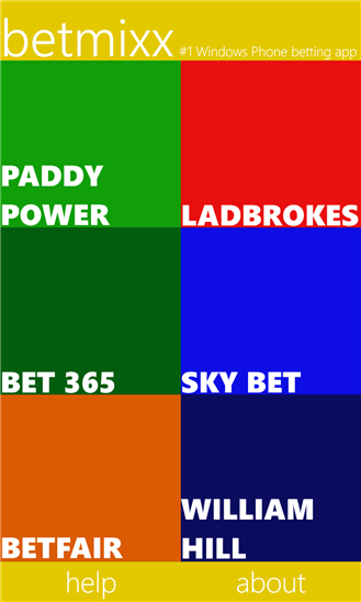 Bet with the UK's top bookmakers using BetMixx. 12