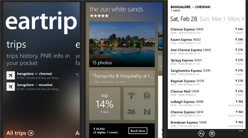 Cleartrip For Windows Phone Updated With Support For Train Cancellations And More 3
