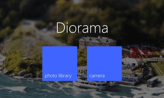 Diorama - Make awsome images with tilt shift effect 3