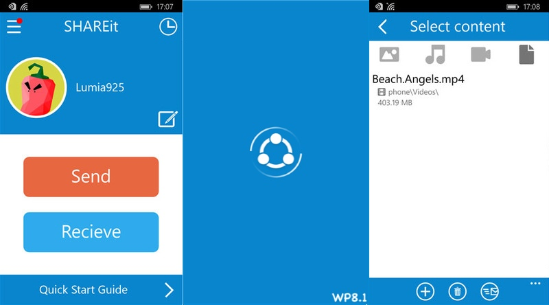 SHAREit for Windows Phone gets updated with new features and improvements 14