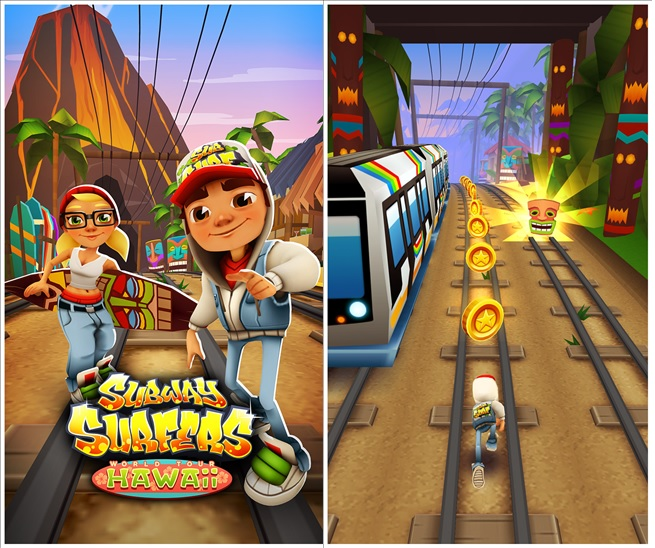 subway surfer windows phone hawaai