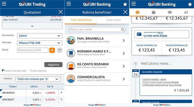 app ubi banca