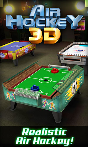 Air Hockey Ultimate 3D available on Desktop PC with Win 8.1 too! 1