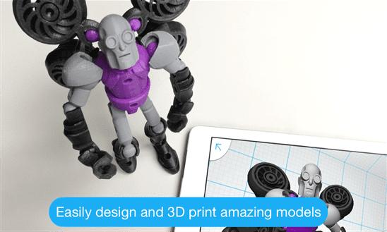 AutoDesk Releases Tinkerplay 3D Design App In Windows Phone Store - MSPoweruser