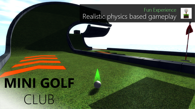 Mini Golf Club v1.4 is now available on Windows Phone 8 and Windows 8 for all golf fans 7