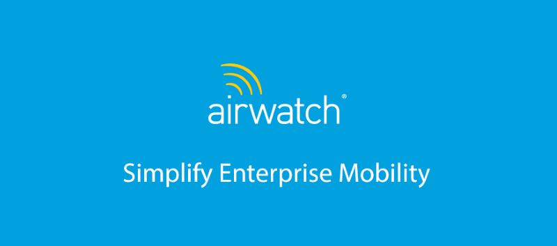 VMware announces AirWatch Unified Endpoint Management update with expanded support for Windows 10 6