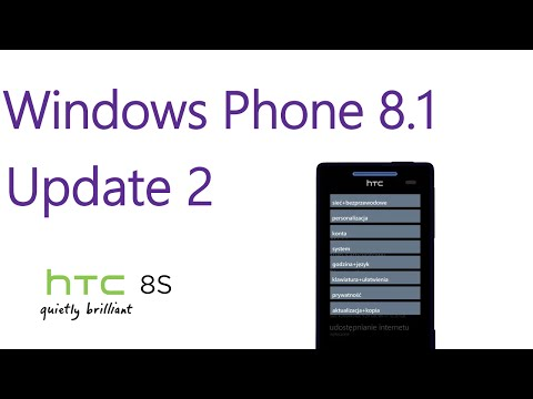 How to get W10M TP or WP8.1 Update 2 on your HTC 8S 12
