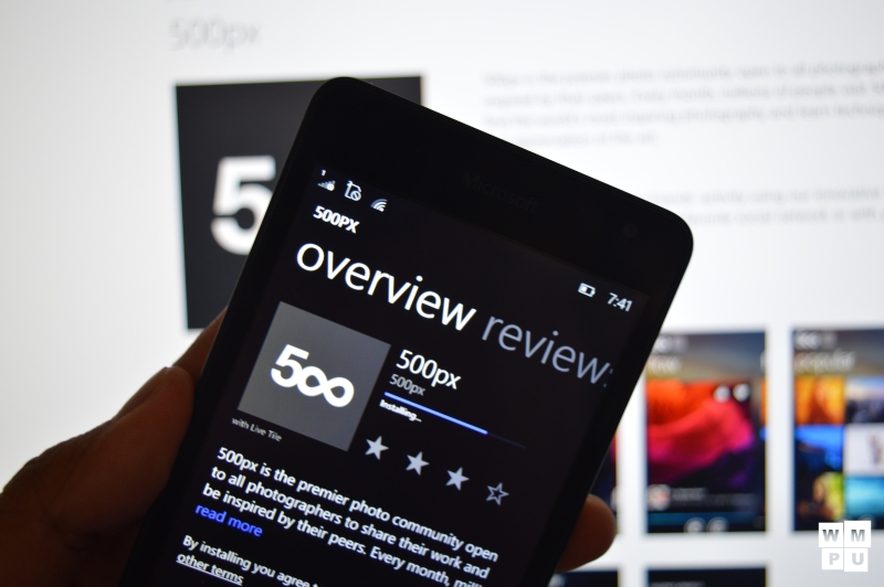 500px removes its official app for Windows Phone and Windows 8 4