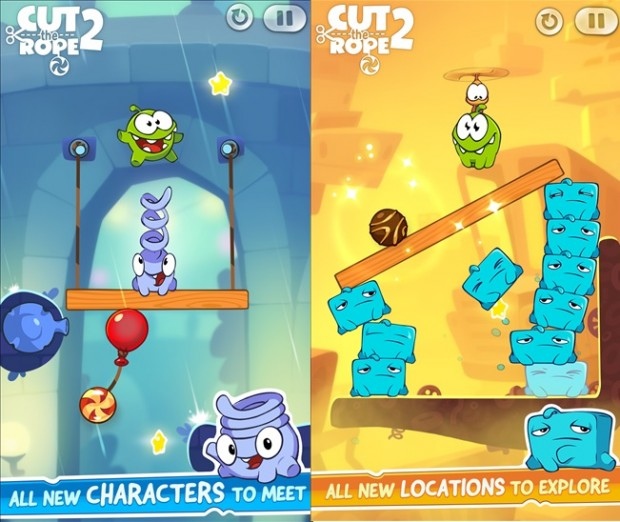 Cut The Rope 2 Windows Phone