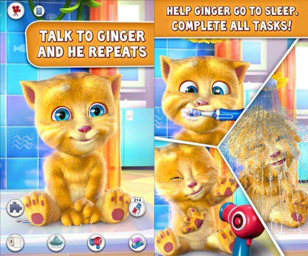 Talking Ginger Windows Phone