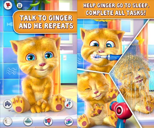 Popular Kids App Talking Ginger Now Available For Download From Windows Phone Store 5