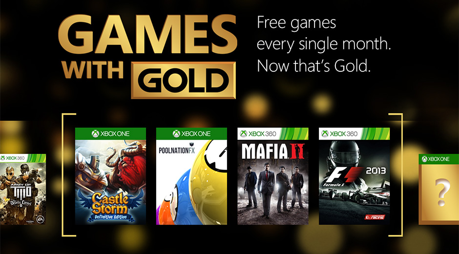 Xbox Gold May Free Games