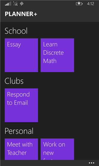 Redesigned Planner+ now available on Windows Phone 8.1 1