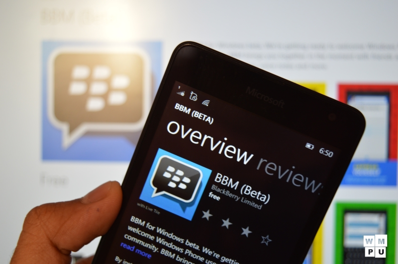BBM Beta for Windows Phone gets updated with another set of bug fixes 12