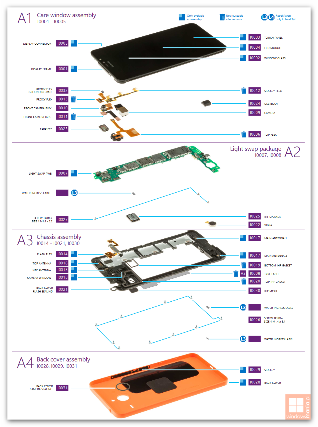 lumia 640 xl tear down 2