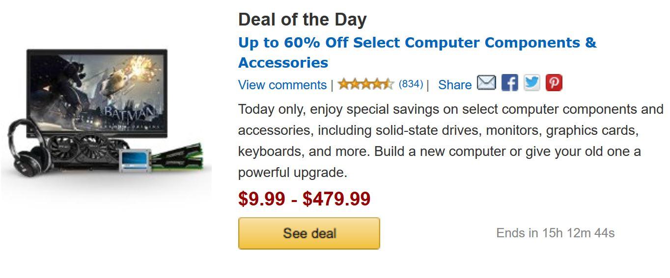 Amazon Components Deals