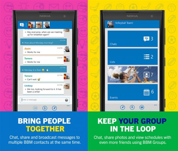 Official BBM for Windows Phone App updated with Channels support 5
