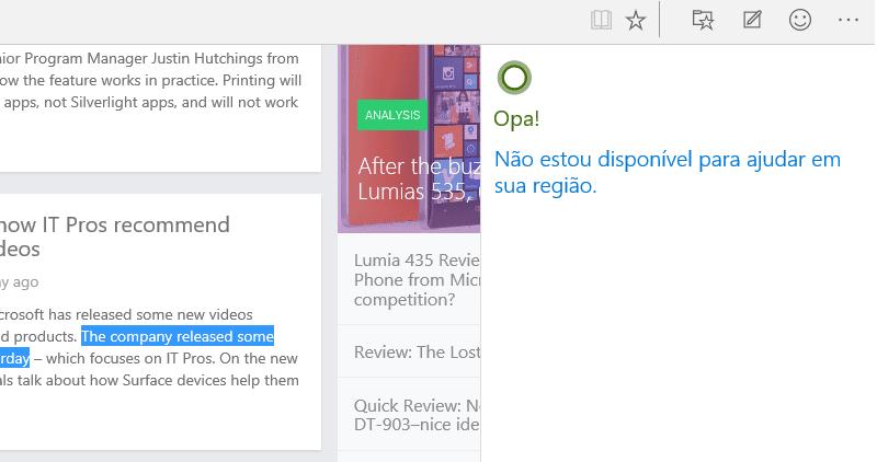 "Cortana will be speaking Brazillian Portuguese ""soon"" 20"