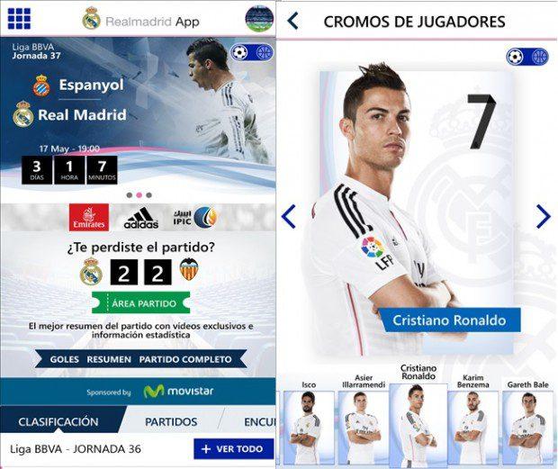 Real Madrid Windows Phone
