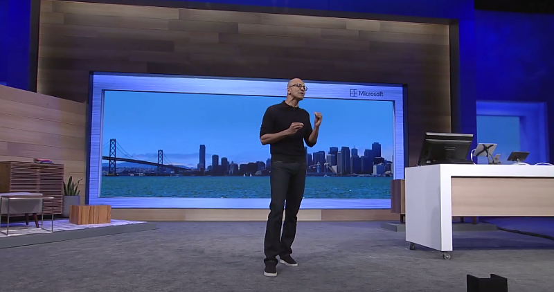 Satya Nadella Build announcements