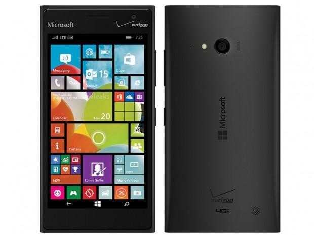 Verizon Lumia 735 Render