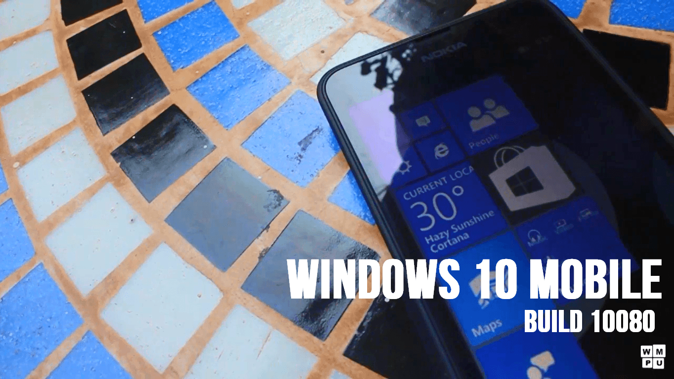 Hands on with Windows 10 Mobile Build 10080 (video) 13