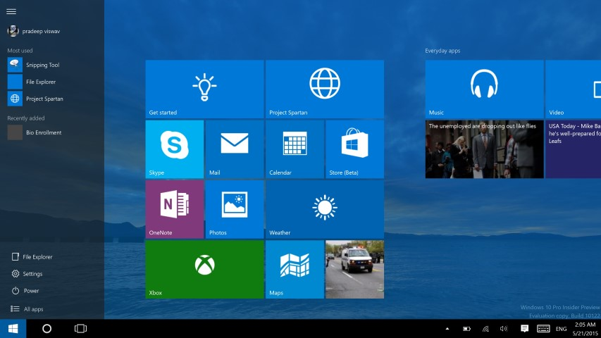 Windows 10 Build 10122 10 (Small)
