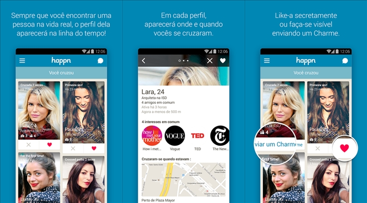 Happn dating app windows phone