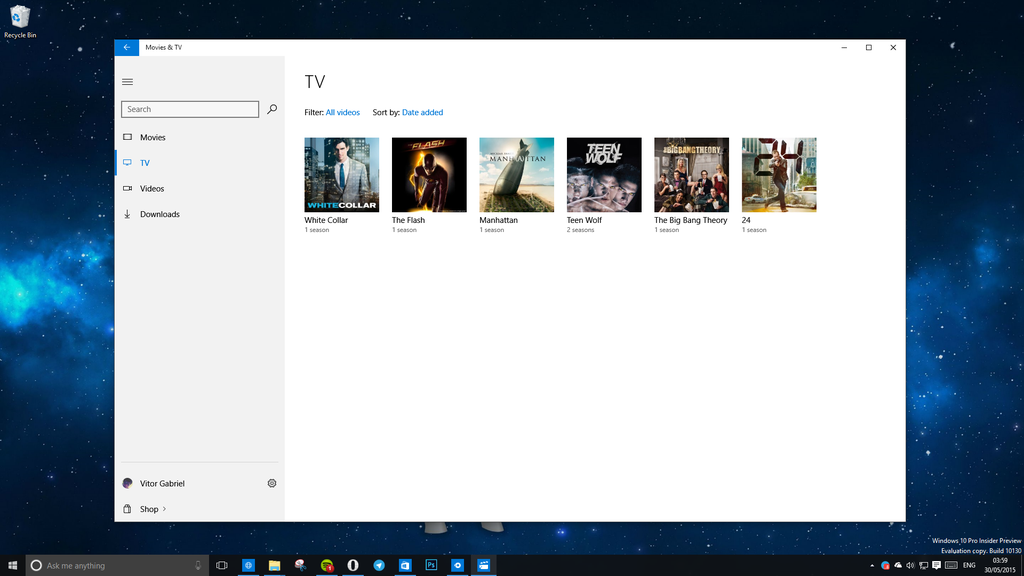 Movies and TV app for Windows 10 Insiders updated - MSPoweruser