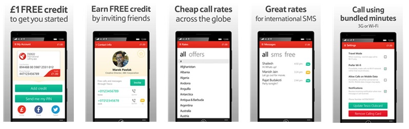 Tesco International Calling VOIP app comes to Windows Phone